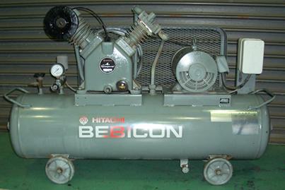 コンプレッサー 日立工機  ベビコン 3.7P-9.5V6 B