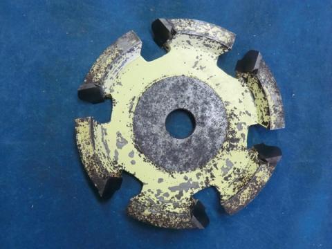 ヒョウタン面カッター 木村刃物製造 ひょうたん面5分(左) 現状渡し
