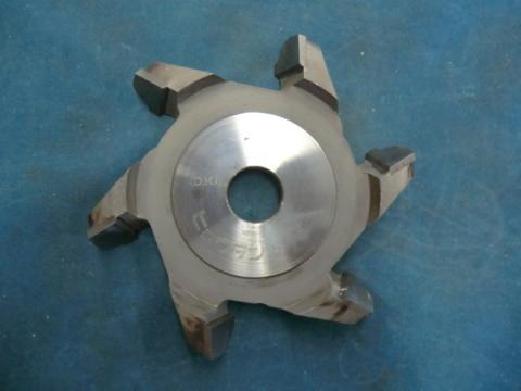 ヒョウタン面カッター 木村刃物 ひょうたん面5分  孔径:30mm 現状渡し