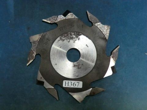 ラジアルカッター(横溝突用K) 兼房 8.1mm(2分7厘) 現状渡し