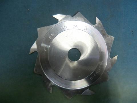ラジアルカッター 兼房 3mm(1分) 未使用品