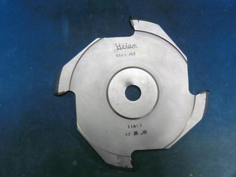 ホゾ取りカッター 平安 斜刃 右45° 超硬 未使用品