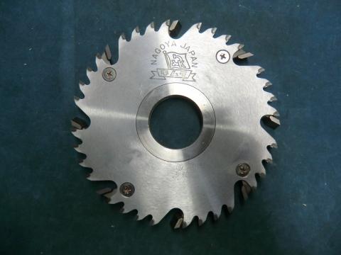 モルダー用調整式チップカッター 木村刃物 11mm-21mm(溝幅調整式) 現状渡し