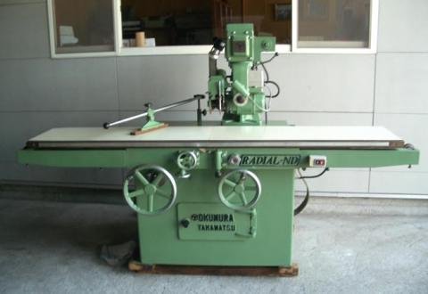 ラジアルソー (溝加工機) 奥村機械 ND-370 B