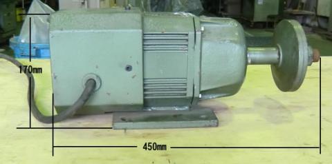 丸鋸モーター 新ダイワ工業 1.5Kw 整備品