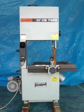 バンドソー(帯のこ盤) 日立 CB75FA 整備品
