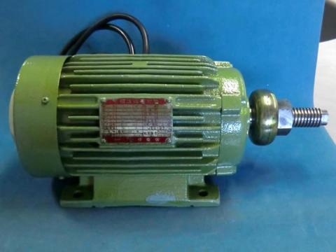 丸鋸モーター 明電舎 平安ホゾ取り盤立軸用 整備品